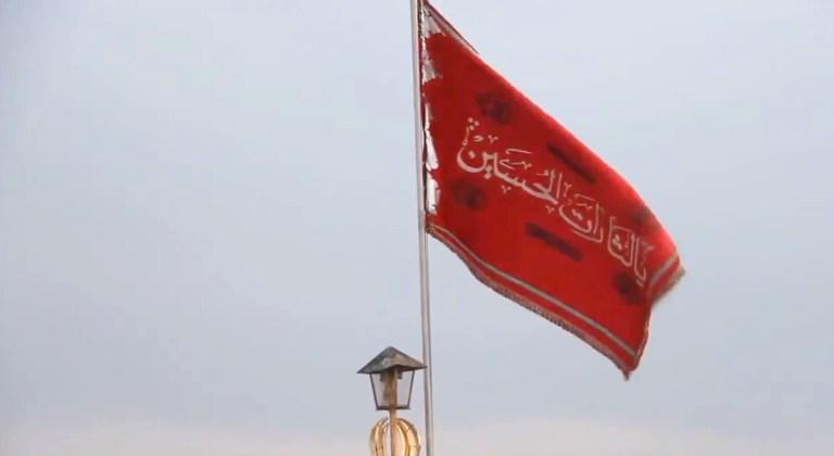 Waarom vliegt Iran met een bloedrode vlag over een beroemde moskee die rechtstreeks verband houdt met de Mahdi?