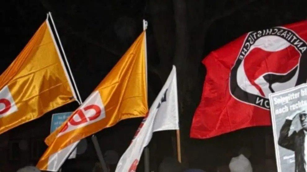 Rotfront marsen in Salzgitter: CDU en ANTIFA samen tegen de AfD