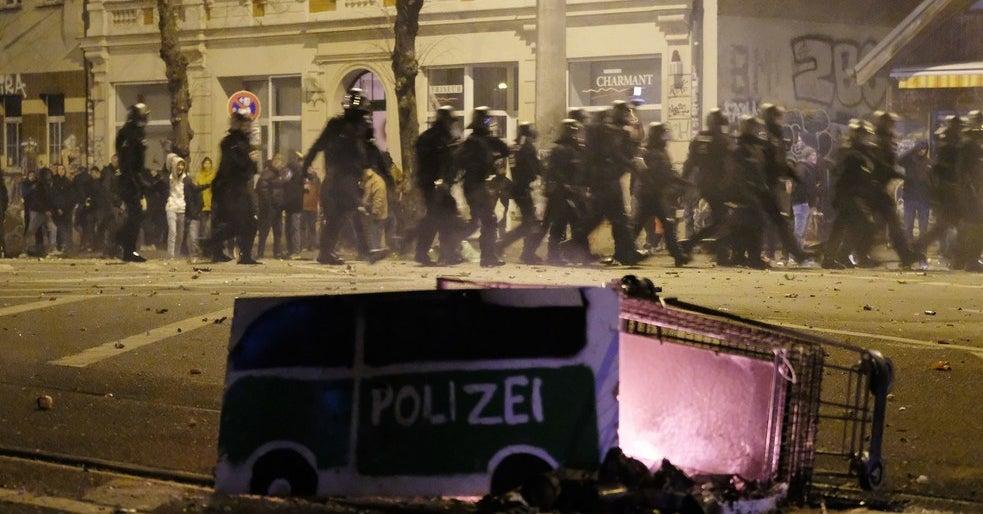 """""""Absoluut brandpunt"""": politie waarschuwt voor links terrorisme in Leipzig"""