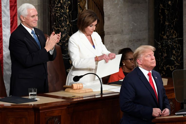 FactChecking the State of the Union van Donald trump 2020