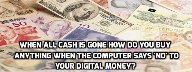 IMF en ECB spelen vies spel: Deel van onze vrijheid is contant-geld