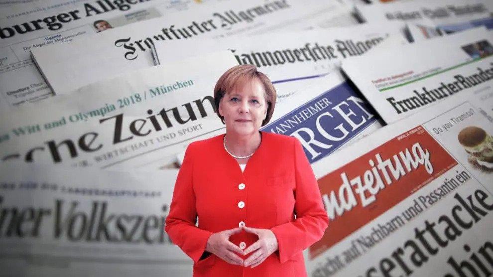 Onthuld: het regime van Merkel brengt de kranten op één lijn – en de burger betaalt de rekening!