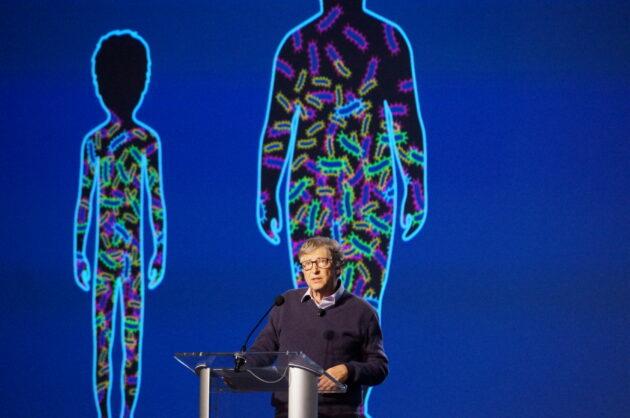 Is het virus een biologisch wapen van Bill Gates?