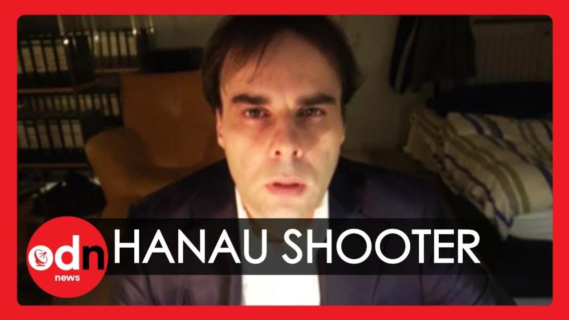 Hanau: Een gevaarlijke rechts-extreme gek met een verwarde tekst