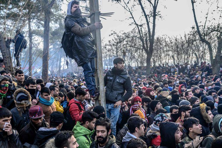 Illegale immigratie Frontex: Het is moeilijk om de stroom migranten naar Europa te stoppen