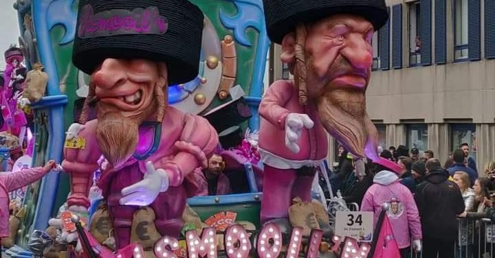 Carnaval en stereotypering, het hoofdingrediënt van karikaturale humor