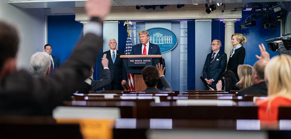 Kan Trump's dagelijkse desinformatieprogramma worden gered? Ja – verander het in een vector voor de waarheid