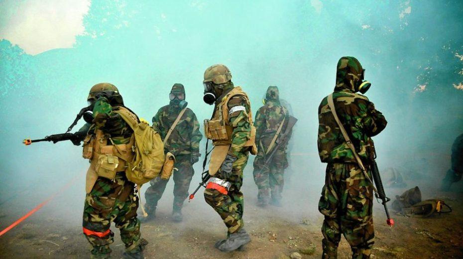 Een voorproefje van de horror van biologische oorlogsvoering