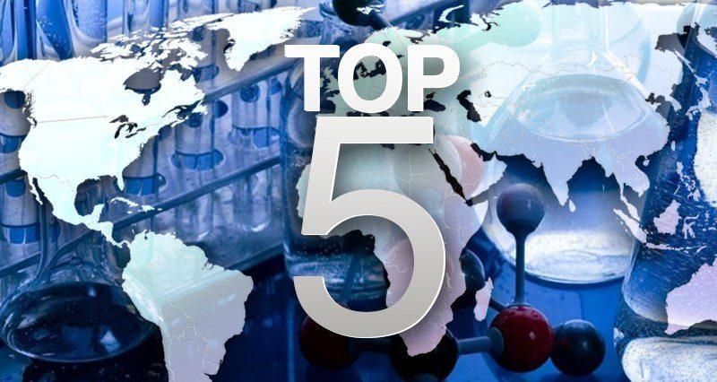 Top 5 landen die het meest zijn voorbereid op biologische oorlogsvoering