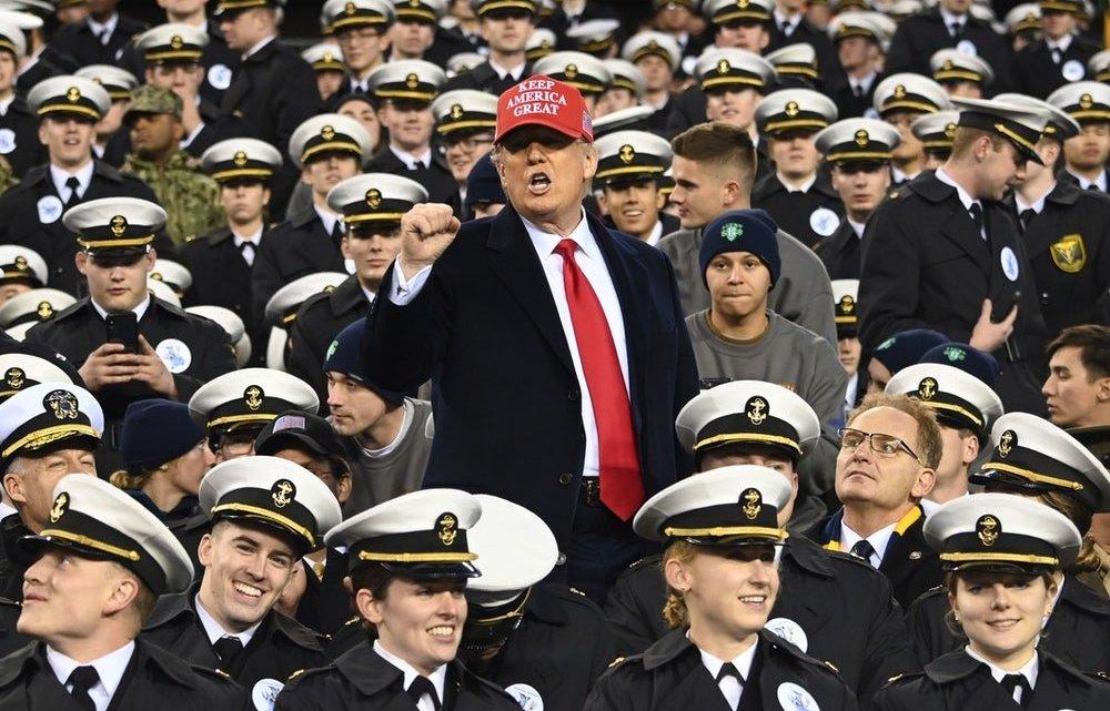 Hoe Donald Trump de marine ruïneerde