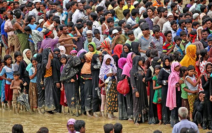 Rohingya-vluchtelingenkampen