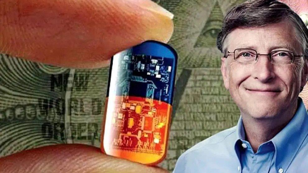 Bill Gates we moeten microchips implanteren om Covid-19 te bestrijden