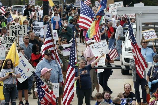 Protestbeweging 'Reopen' gecreëerd, gestimuleerd door nep-basistactieken