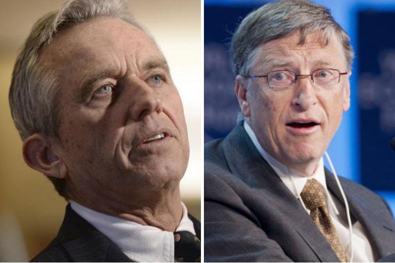 Robert Kennedy Jr. brandt Bill Gates en zijn stichting tot de grond toe af