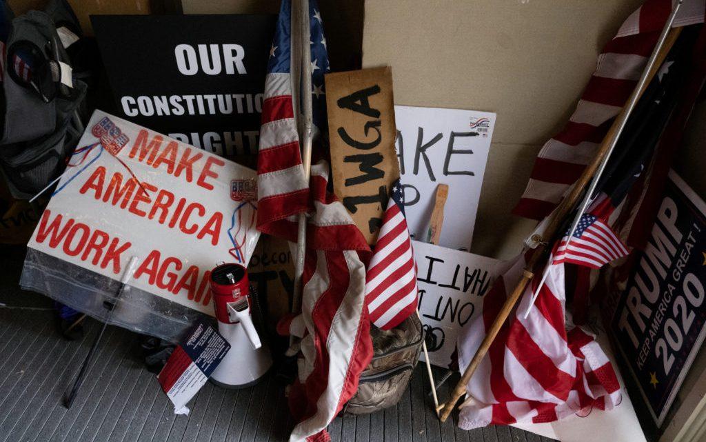 Staat de Verenigde Staten aan de vooravond van een nieuwe burgeroorlog?