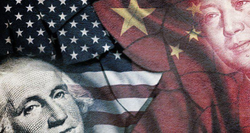 Wat voor soort conflict ontstaat er tussen de VS en China?