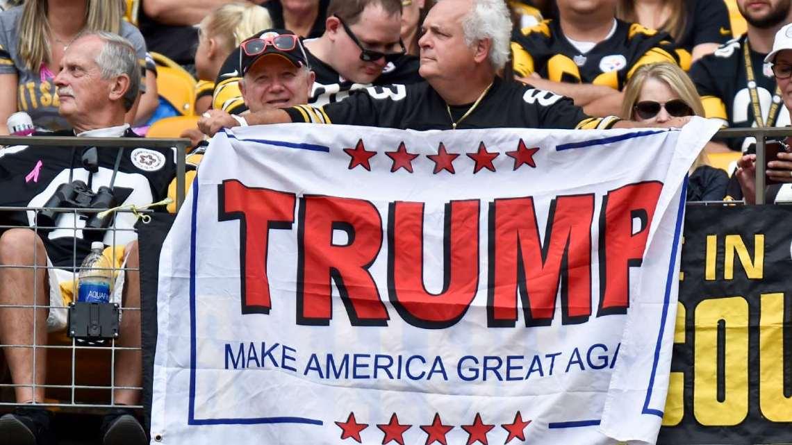 Donald Trump is nu 'Amerika's nummer één verrader', zegt Veterans Group