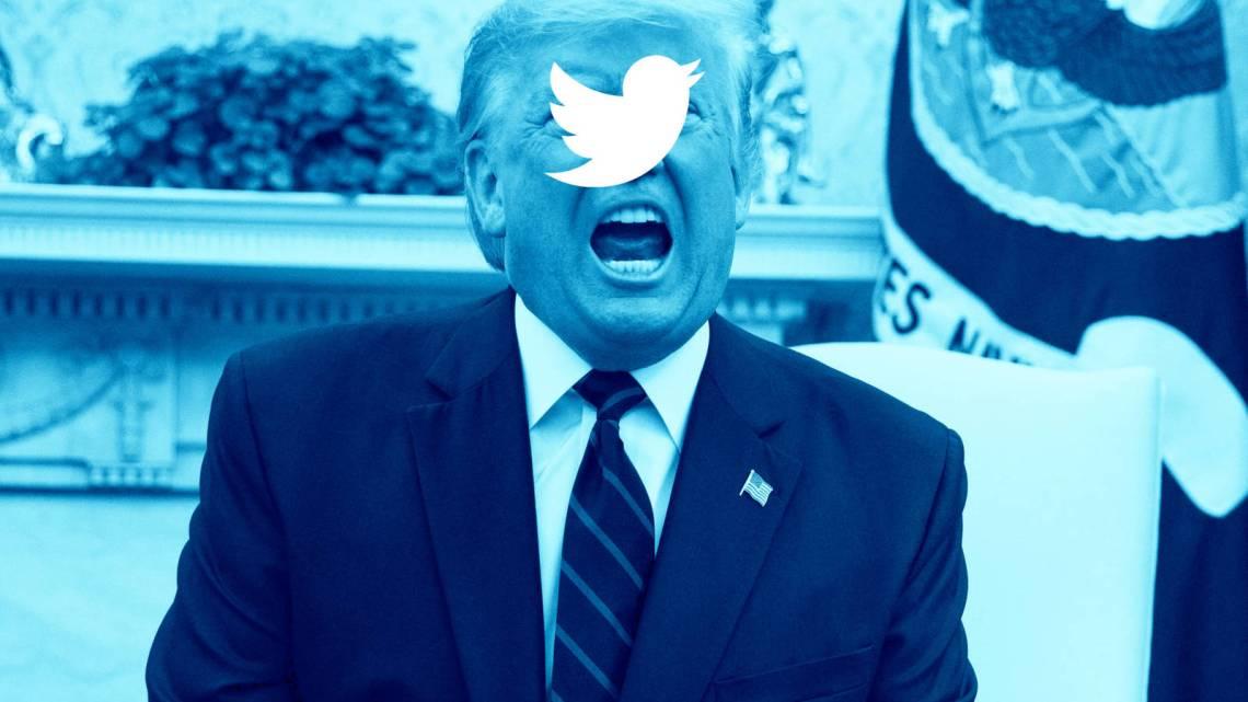 Trump's Twitter Tirade is de driftbui van een trol