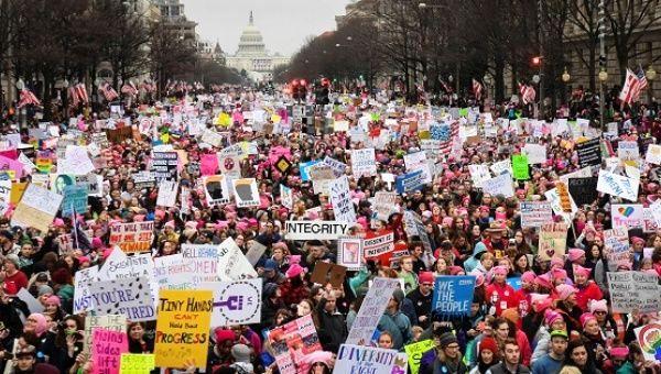 Laten we zeggen dat vrouwen de Donald Trump beu zijn