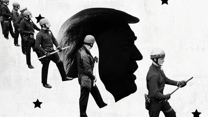 Trump gaf de politie toestemming om wreed te zijn