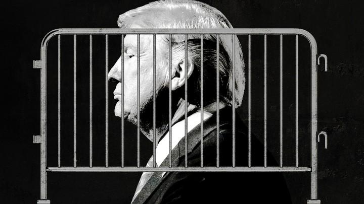 De angst president Trump heeft zichzelf gevangengezet in het Witte Huis