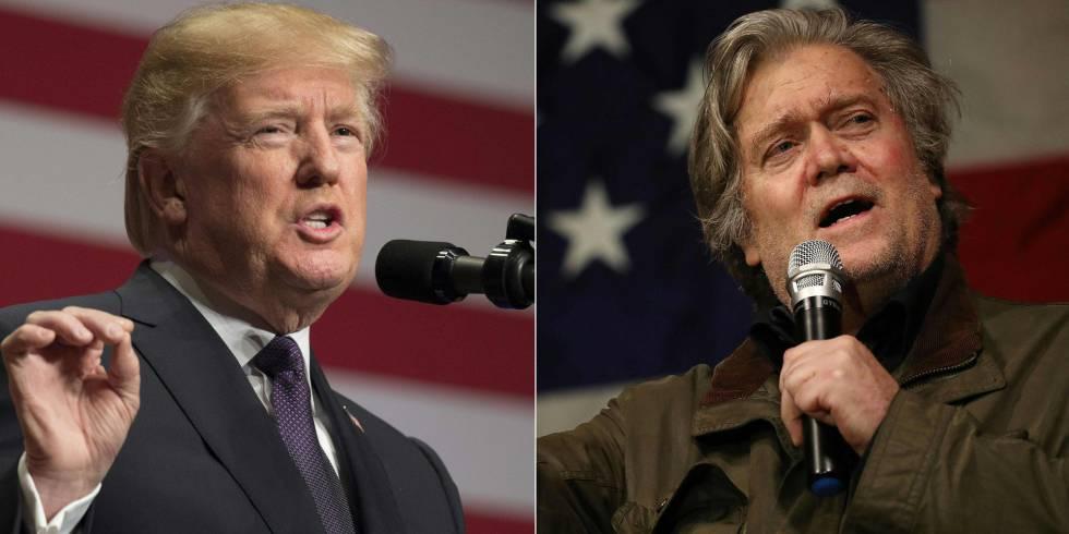 Steve Bannon en Louis DeJoy: verschillende vleugels van het corruptie imperium van Trump