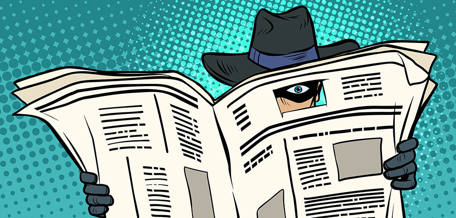 Wie houdt er niet van de heilige vrijheid om te spioneren?