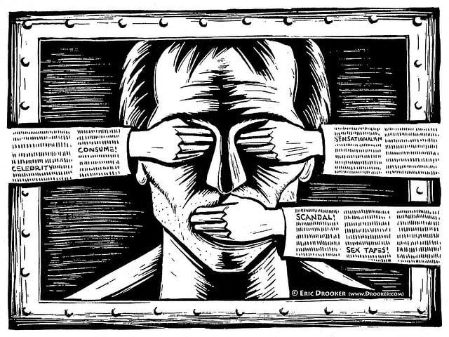 Intimidatie- en censuurcampagne tegen online onafhankelijke media