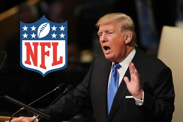 Trump valt protesterende atleten aan, dringt aan op voetbal ondanks bezorgdheid over het coronavirus