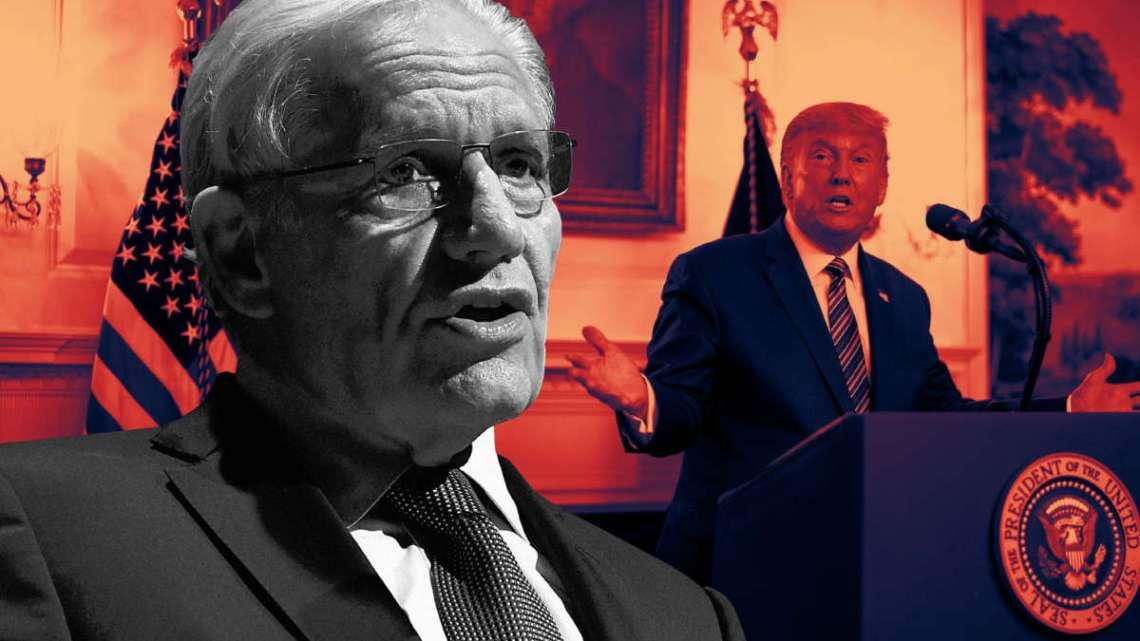 Zes dodelijke maanden te laat waarschuwt Bob Woodward ons dat Trump liegt over COVID