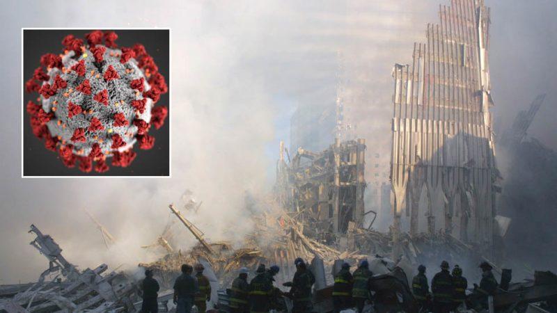 Bijna twee decennia na 9/11 kunnen de parallellen tussen de post-terroristische aanval 'New Normal' en die van Covid-19 niet worden genegeerd