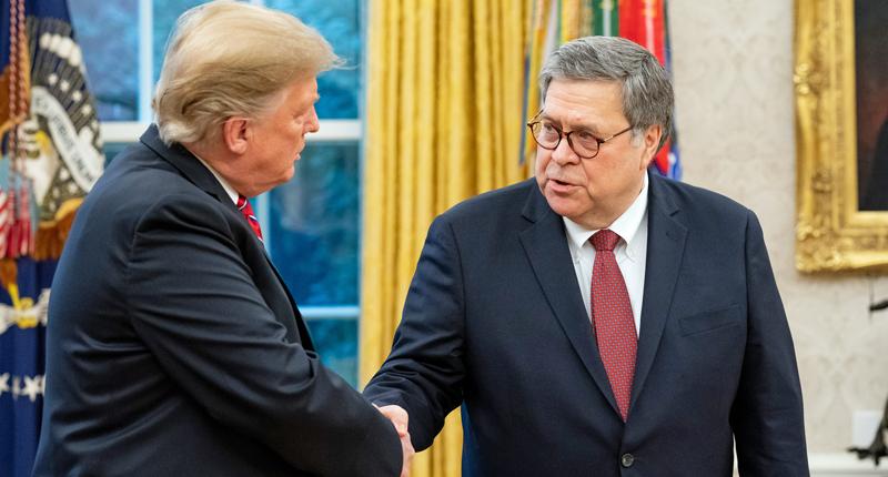"""Trump wakkert fascisme aan met """"anarchistische rechtsgebieden"""" edict"""