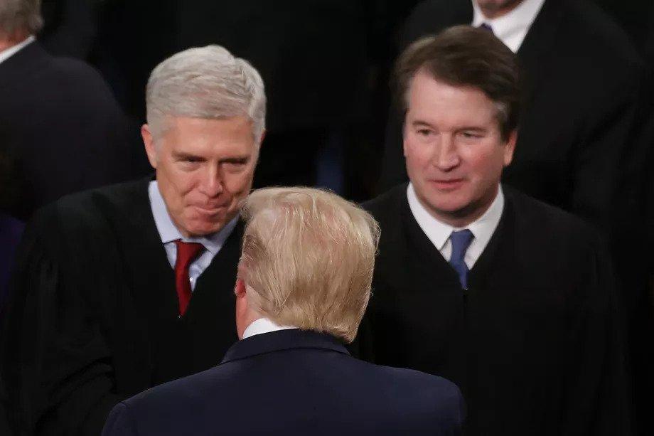 Uit een nieuwe peiling blijkt dat de gewone democraten eindelijk beseffen dat het Hooggerechtshof belangrijk is