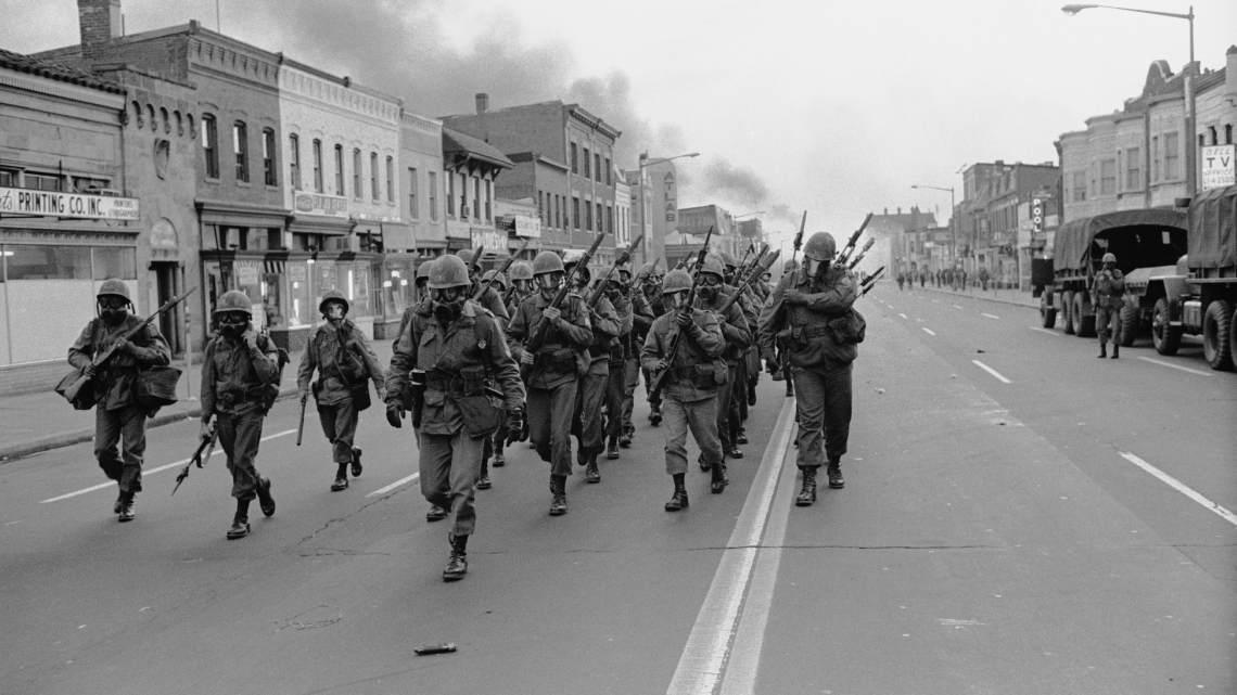 Amerika beleeft niet opnieuw 1968