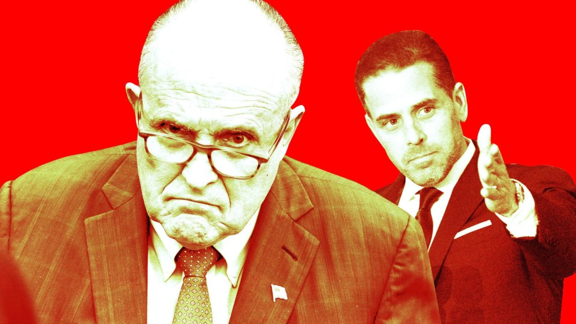 Trump wist dagenlang dat Rudy's hit op Hunter Biden eraan kwam