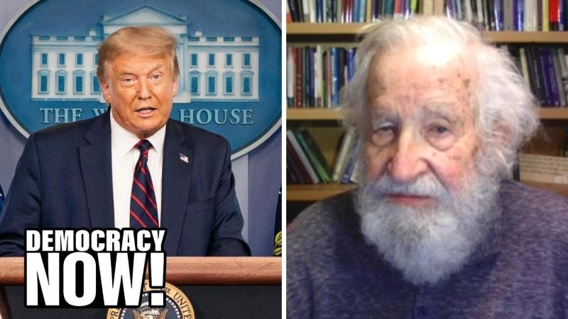 Noam Chomsky: Trump is bereid de democratie te ontmantelen om aan de macht te blijven