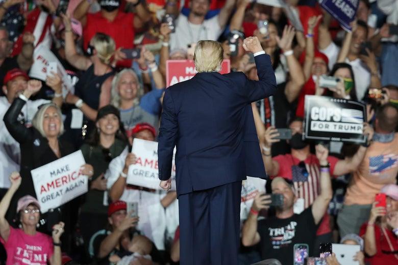 Hoe Don Jr. de toekomst van het Trumpisme werd