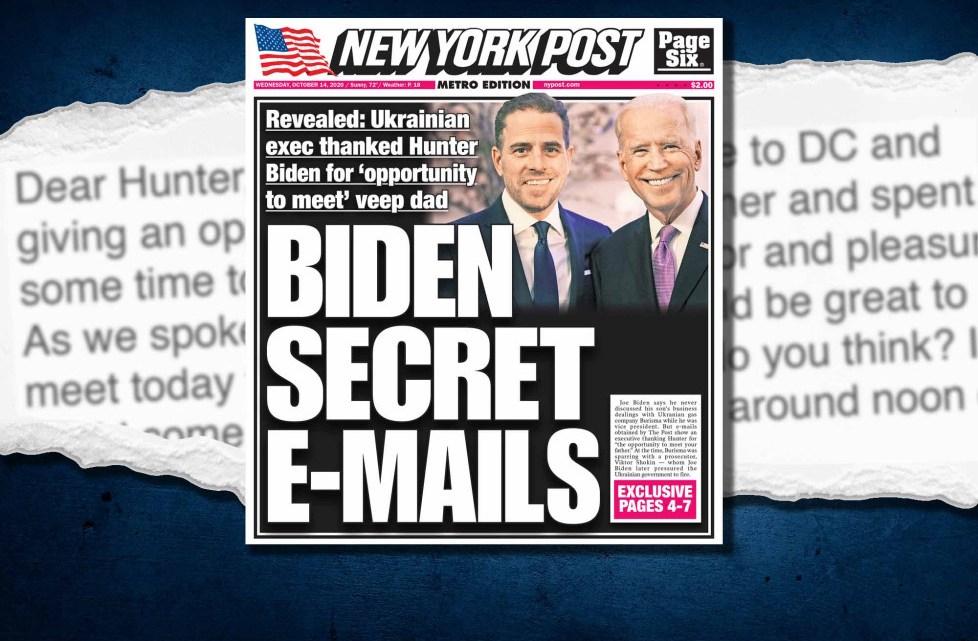 Een e-mail met een rookpistool onthult hoe Hunter Biden de Oekraïense zakenman introduceerde bij vader van de vice-president