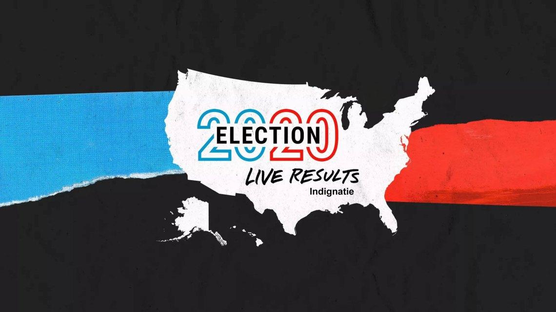 Live resultaten voor de presidentsverkiezingen van 2020