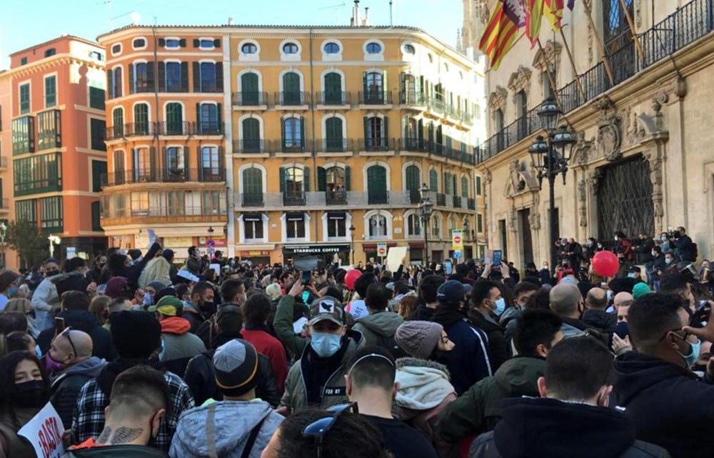 Mallorca wordt wakker