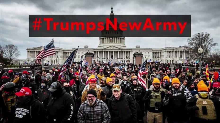 SCHIKKENDE Virale #TrumpsNewArmy-video is TRUMP-AAHANGERS op hun gevaarlijkste en is angstig