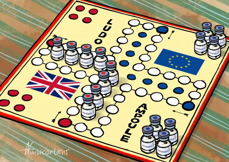 Covid-vaccincontracten: de EU heeft de handen gebonden, zeggen experts