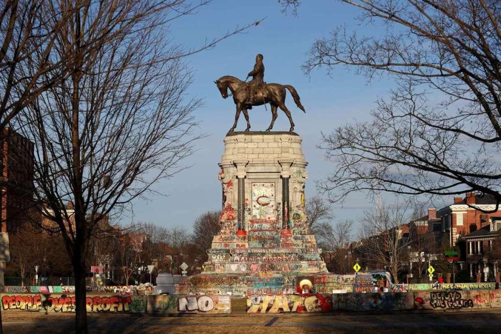 confederale standbeeld