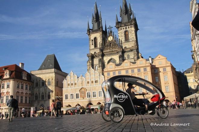 Elberadweg, Tschechien, Prag, Karlsplatz