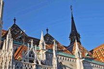 Budapest, Burgberg, Sehenswürdigkeiten