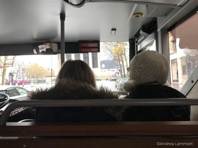 Paris mit Kindern, Hop-on-Bus,