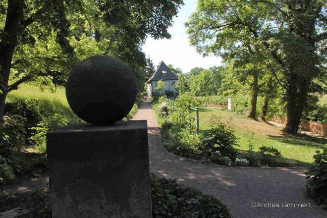 Weimar, Goethespasziergang, Goethes Gartenhaus