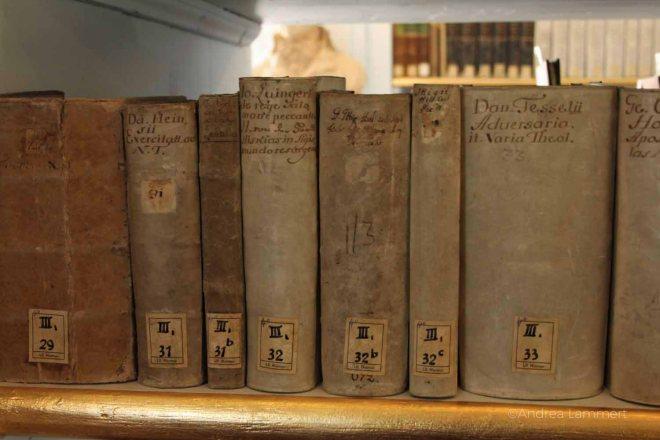 Folianten in der Anna-Amalia-Bibliothek