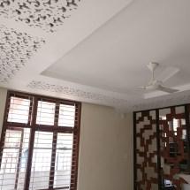 false ceiling design, cove lighting, wood partition, contemporary design
