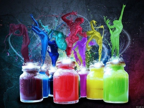 çocuklar ve renk